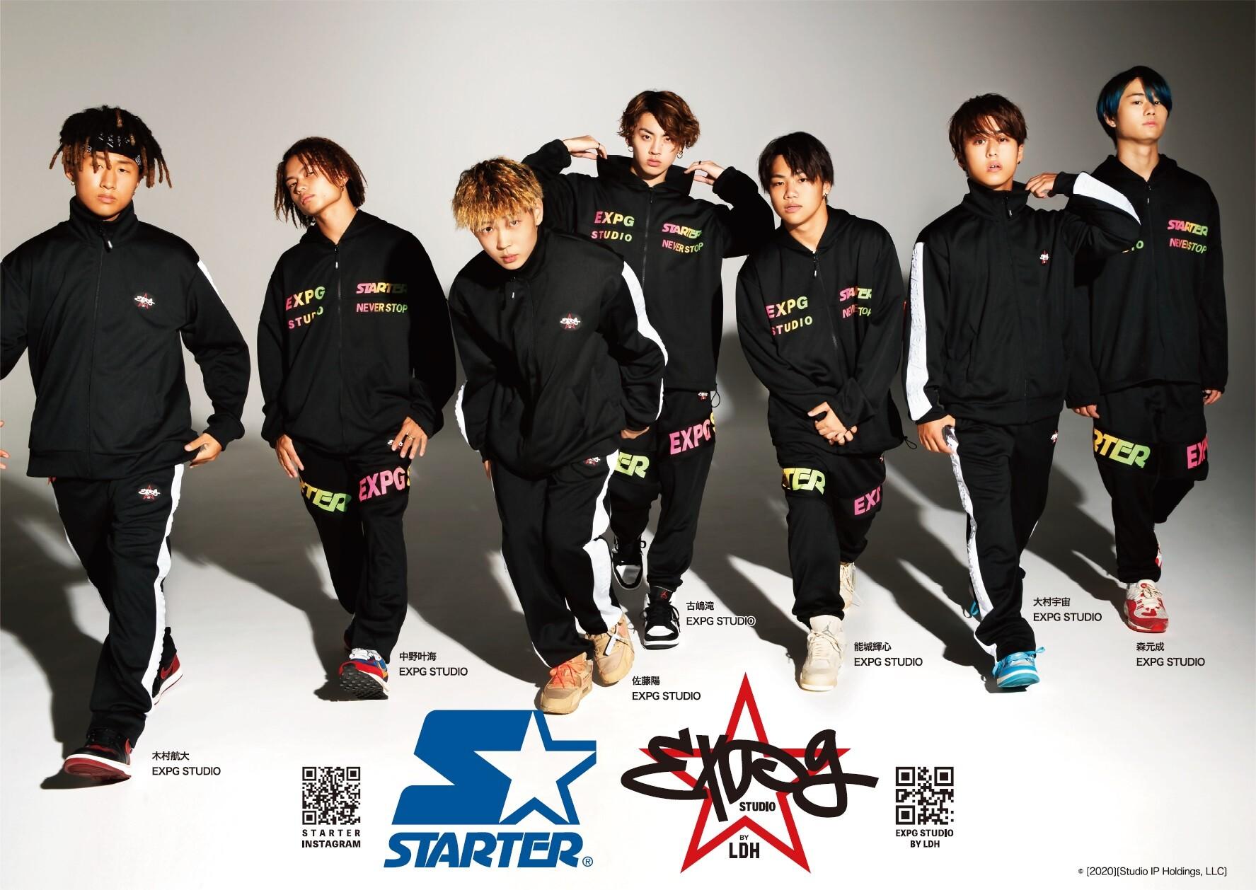 【10/9より通常販売スタート】STARTER × EXPG STUDIO BY LDH