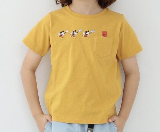 B:MING by BEAMS / Disney ポスト ポケットTシャツ