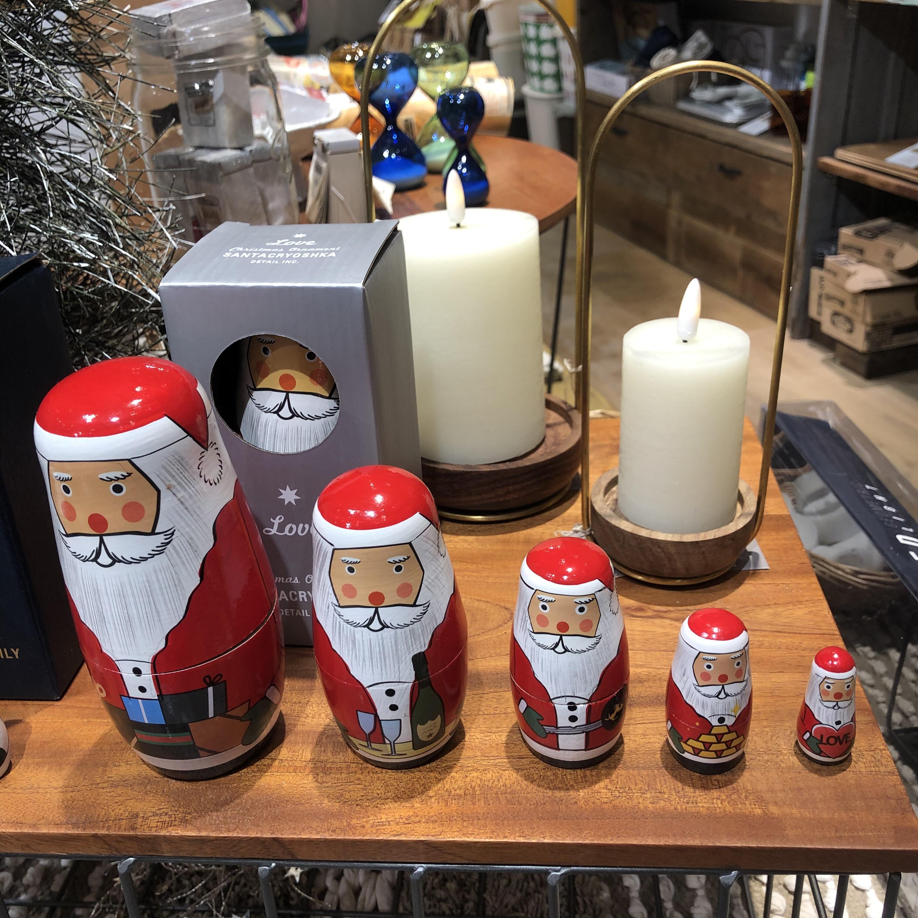 クリスマス雑貨入荷しております♬︎