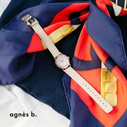 【agnes b.】小ぶりな新作ソーラーモデル発売