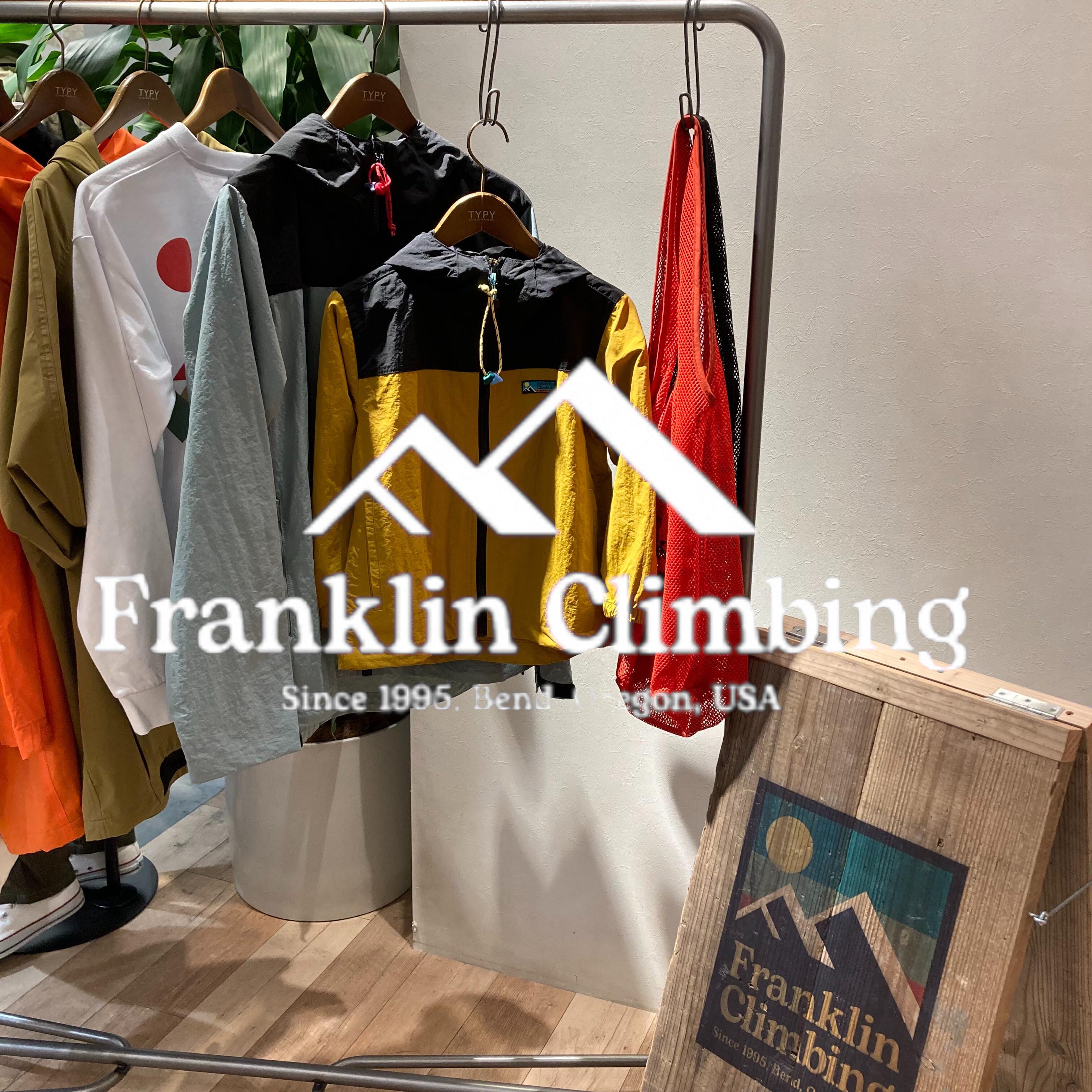 【FranklinClimbing】独占販売!