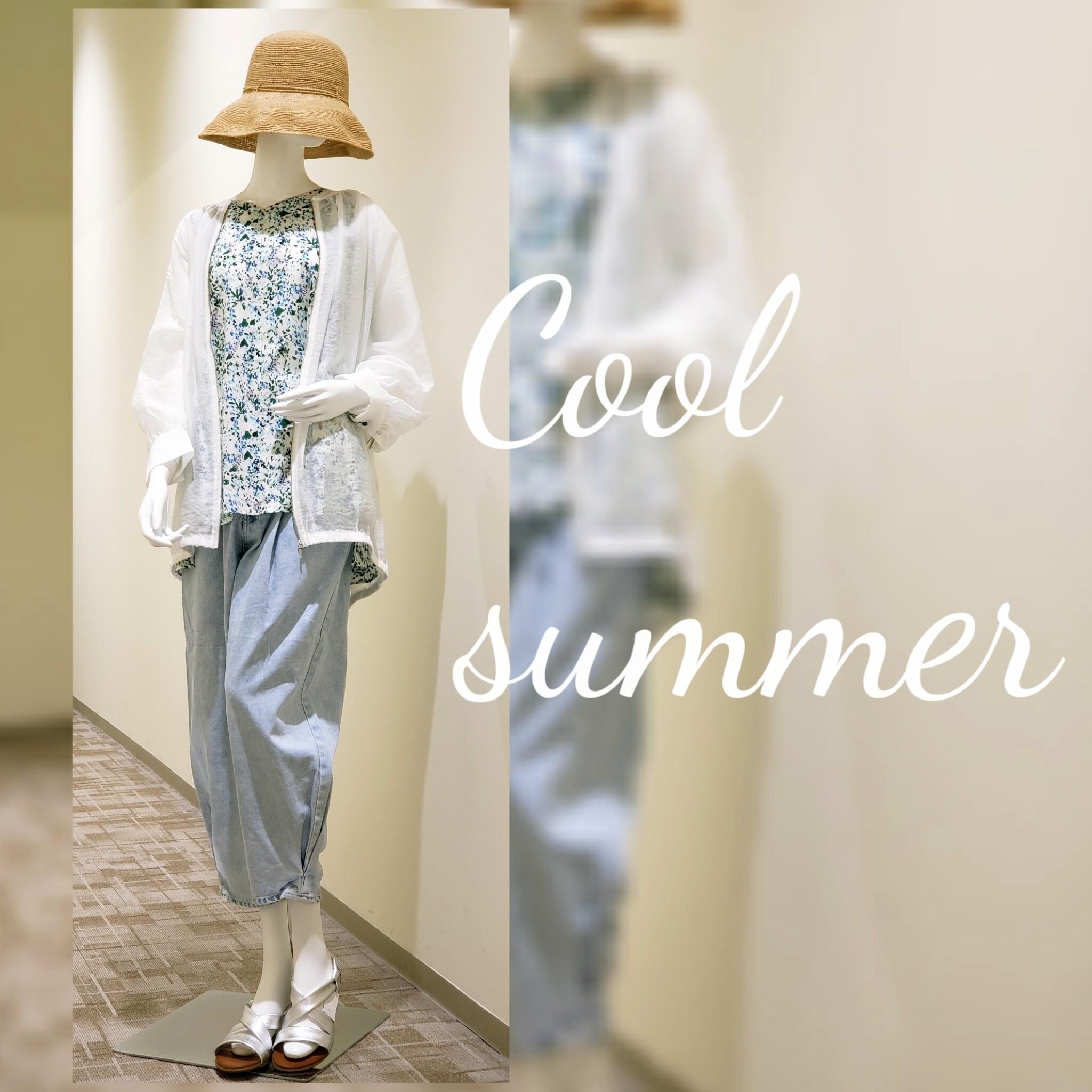 『Cool summer』貴女が通ればもう...そこは避暑地♪