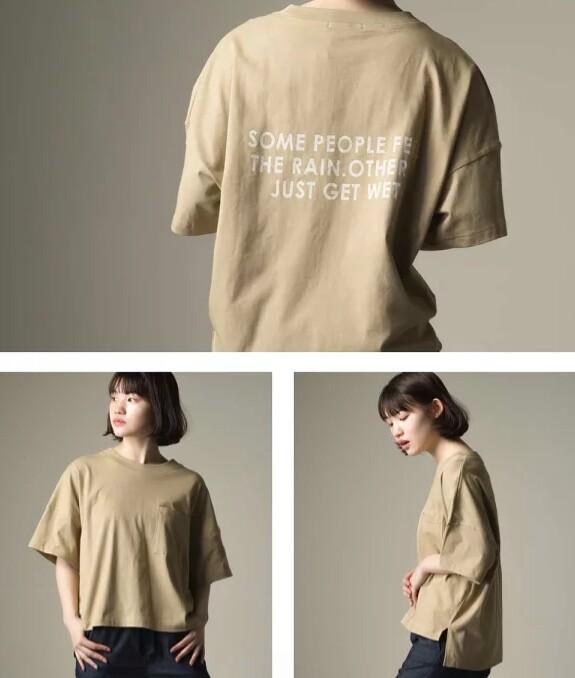 オムネス⭐️母の日にも🌷バックプリント ビッグTシャツ