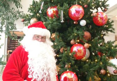 サンタさんがやってくる!