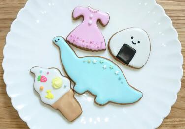 キッズプロジェクト「クッキーにアイシングをしてみよう!!」