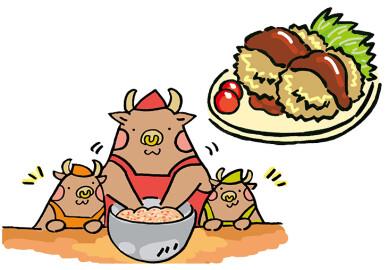 キッズプロジェクト「毎回好評のお肉屋さんレシピ!!今回はミンチカツ!」