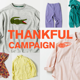 「THANKFUL CAMPAIGN」を開催