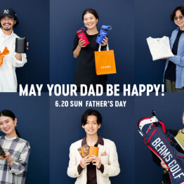『MAY YOUR DAD BE HAPPY』