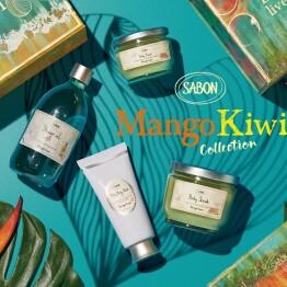 7/4(木) 限定発売★ -SABON Mango Kiwi Collection-