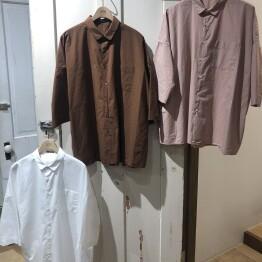 ORCHID ワイドポケットシャツ