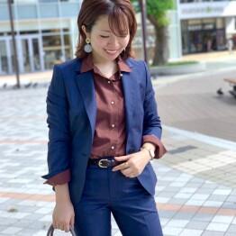 【GINGER 11月号】掲載◇大人気REDA社の秋冬オススメスーツ♡