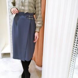 大人なくすみカラー♪タイトスカート