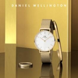 【Daniel Wellington】鮮やかなゴールドの新作登場