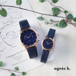 【agnes b.】人気の「マルチェロ」限定ペアモデル発売