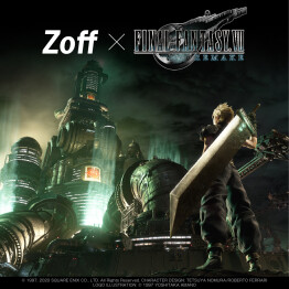 Zoff SMART FINAL FANTASY Ⅶ REMAKE Model新発売!