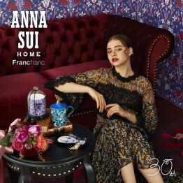 ANNA SUI × Francfranc スペシャルコラボレーション