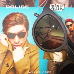 POLICE × EXIT コラボサングラス入荷!