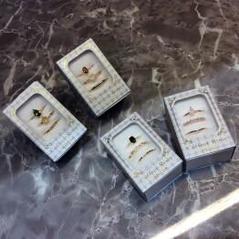 キュービック Set Ring ✳︎*.