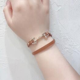 Leather bracelet 📜🎗