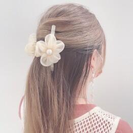 organdy flower 🌷💕