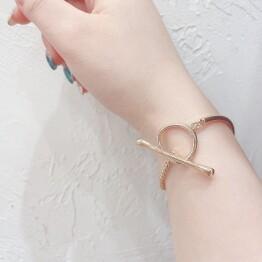 metal bracelet ⛓・:*