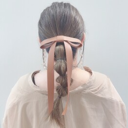 leather ribbon pony 🎀*+。