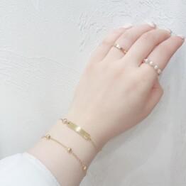 Stainless steel bracelet *+。