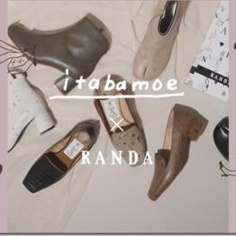 『RANDA』から人気イラストレーターitabamoeさんとのコラボシューズ登場!
