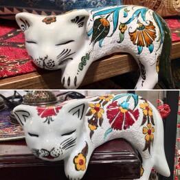 癒しの猫 printed by Fatih Kahraman