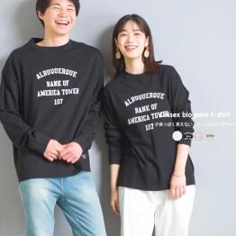 オムネス⭐ユニセックス 長袖Tシャツ