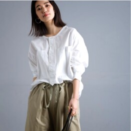 オムネス⭐タイプライター長袖シャツ