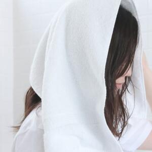 ふんわりと包み込んでくれるタオル