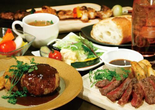 炭焼ステーキ・ハンバーグと元気野菜たち 森のロマン亭