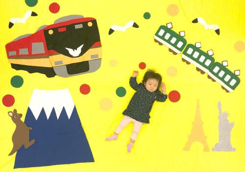 「世界にはばたけ京阪電車」(西三荘のみ実施アート)